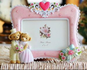 Wedding Bear Resin European Frame Best Gift pictures & photos