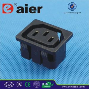 Black Femal IEC C13 Power Socket pictures & photos