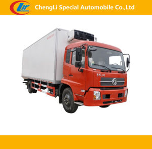 Dongfeng 4*2 10cbm Refrigerated Truck for Sale pictures & photos