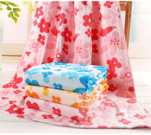 2016 Organic Cotton Muslin Baby Blanket /Organic Cotton Baby Muslin pictures & photos