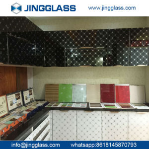 Stained Glass Ceramic Silkscreen Glass Ceramic Frit Glass Colored Printing Tempered Glass pictures & photos