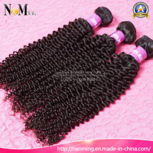 Fashion Hair Decoration Mongolian Kinky Curly Remy Weft Hair pictures & photos