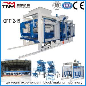 European Quality Full Automatic Concrete Block Making Machine (QT12-15) pictures & photos