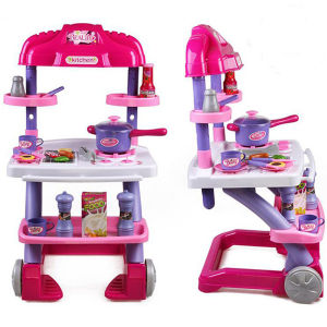 China hot sale kids kitchen set toy with light and music for Kids kitchen set sale