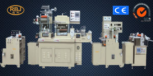 Logistics Label Die-Cutter with Hot Stamping+Sheeting Function