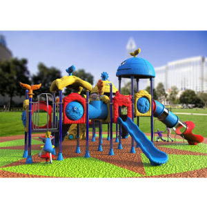 Outdoor Playground--Small Earth Guard Series, Children Outdoor Slide (XYH-MH018) pictures & photos