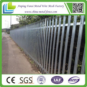 Glavanized Heavy Duty Steel Bar Palisade Fence pictures & photos