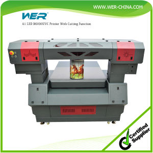 Wer 900*600mm UV LED Printing and Laser Cutting Machine for Acrylic pictures & photos