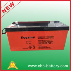 12V 200ah Lead Acid AGM Battery for Telecom, Storage pictures & photos