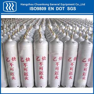 100L Oxygen Nitrogen Argon CO2 Acetylene Steel Gas Cylinder pictures & photos