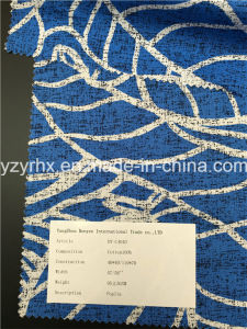Finished Fabric 100% Cotton Poplin Blue Ground pictures & photos