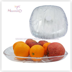 400g Plastic Fruit Plate/Dish, Fruit Serving Tray, Fruit Bowl pictures & photos