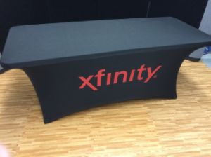 4 Feet Fitted Trade Show Display Table Cover pictures & photos