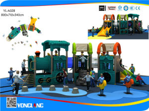 Kids Outdoor Train Playground Products Outdoor Playground Equipment (YL-A028) pictures & photos