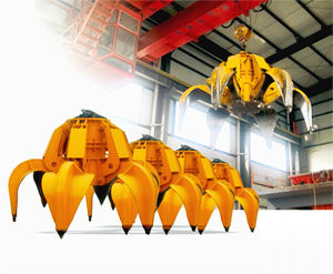Certificated Electric Orange Peel Crane Grab for Sell pictures & photos
