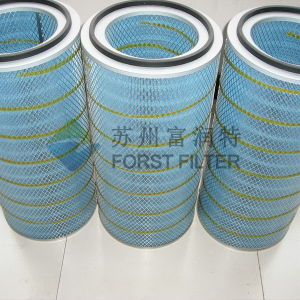 Forst Gas Turbine Cellulose Paper Air Intake Filter Cartridge pictures & photos