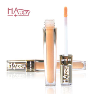 Cosmetic Happy+ Lip Gloss Private Label Wholesale Lip Gloss for Beauty with Moisturizing (6ml) pictures & photos