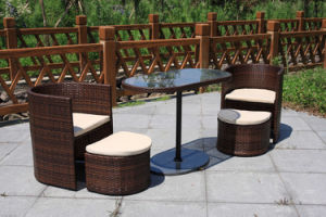 Rattan Outdoor Lounge Furniture for Hotel Lobby and Villa (FS-2185+2186+2187) pictures & photos