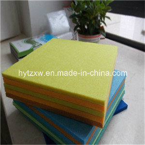 Soundproof Polyester Acoustic Panel/ Pet Acoustic Panel Board