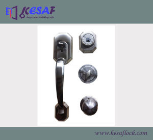 ANSI Grade 3 Casting Zinc Alloy Big Safe Handle Door Lock