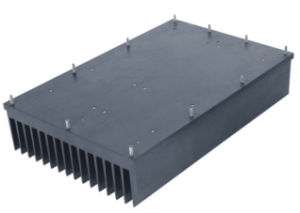 CNC Machining Extruded High Power Heat Sinks pictures & photos