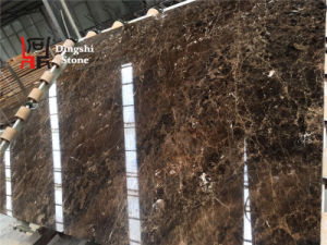 Spanish Middle/Top Range Dark Emperador Brown Marble for Hotel/Commercial Building Decoration Slab