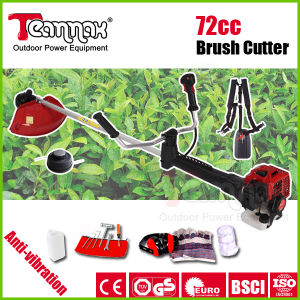 72cc Rotatable Handle Gasoline Brush Cutter with Anti-Vibration System pictures & photos
