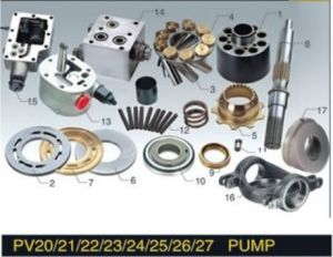Sauer Sundstrand Hydraulic Pump Parts PV20 PV21 PV22 PV23 PV24 PV25 PV26 pictures & photos