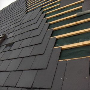 Natural Black Roof Slate Tile for Roofing pictures & photos