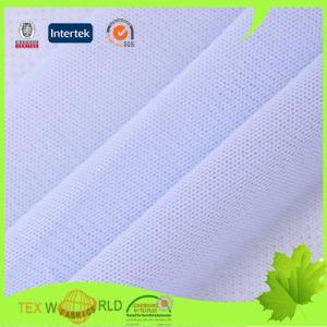 Blue Stretch Mesh Spandex Warp Knitting Fabric