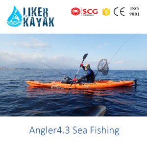 Leisure Kayak LLDPE/HDPE Single Sit on Top Kayak Fishing Kayak pictures & photos