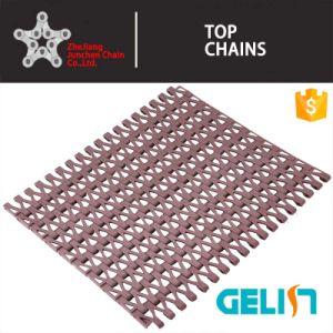 T-2000 Side Flexing Plastic Modular Flush Grid Conveyor Belt pictures & photos
