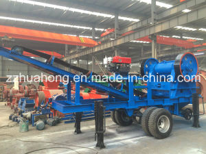 Mobile Jaw Crusher Plant, Jaw Crusher with Diesel Engine pictures & photos
