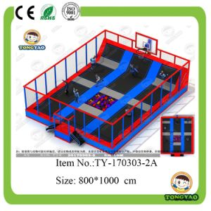 Best Quality Indoor Trampoline (TY-150323-2A) pictures & photos