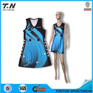 China Wholesale Custom Sublimation Netball Netball Dress pictures & photos