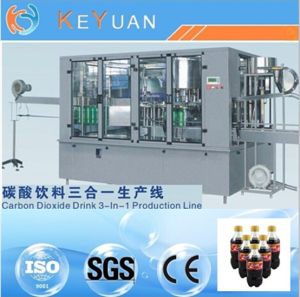 Zhangjiagang Automatic Carbonated Soft Drink Filling Machine pictures & photos