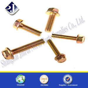 Good Quality Hex Flange Bolt pictures & photos