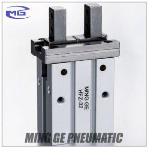 Airtac Type Parallel Pneumatic Machine Air Gripper Finger Cylinder (HFZ-32, MHz2-32D)