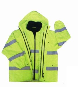 High Visibility 6-in-1 Jacket with Oxford Waterproof Fabric, Meet En pictures & photos