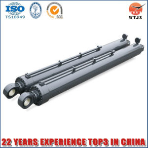 Manufacturer Horizontal Direction Hydraulic Cylinder for Dump Truck pictures & photos