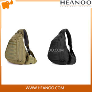 Casual Men Messenger Brand Canvas Sport Crossbody Chest Bags pictures & photos