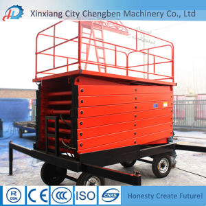 Widely Used Car Scissor Lift Table with Oversea Service pictures & photos