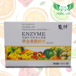 Golden Fruits and Vegetables Enzyme Weight Loss Diet Pills pictures & photos