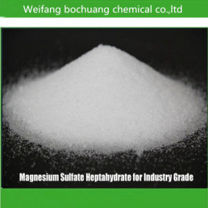 Manufacturer Supply Top Quality Chemical Magnesium Sulfate pictures & photos