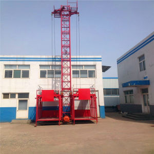 Ss100 /100 Material Hoist/Construction Lift/Building Elevator pictures & photos