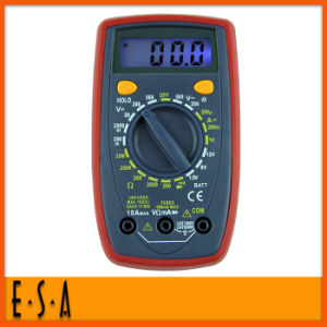Hot New Product 2015 Adjustable Digital Multimeter, Multifunction Digital Multimeter, Hot Sale Digital Process Multimeter T31b002 pictures & photos