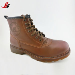 High Quality Winter Men′s Leather Shoes Leather Boots Shoes (FMF12) pictures & photos