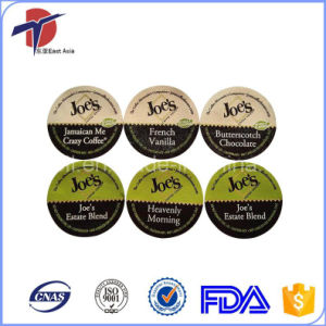 51.7mm Printed K-Cup Foil Lids pictures & photos