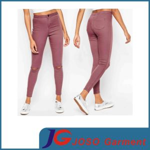 Red Tendy Lady Skinny Jeans Women Clothing (JC1352) pictures & photos