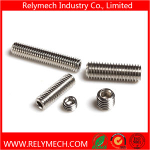 Hex Socket Head Set Screw with Cup Point in Stainless Steel 304 pictures & photos